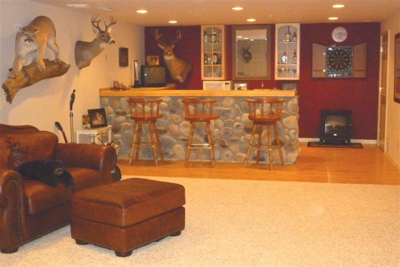 Finished Basement Bars basement remodeling ideas: finished basement photos